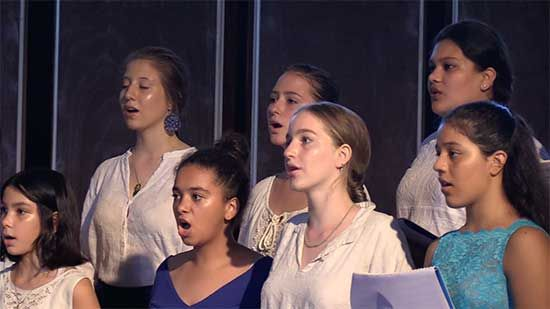 Youth choir (photo Manohar)